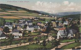 AK Niederschlema Schlema Erzgebirge Bahnhof ? A Aue Lößnitz Hartenstein Griesbach Zschorlau Bockau Albernau Schneeberg - Schlema