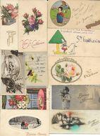 Lot De 25 Petites Cartes Bonne Année,St Catherine,St Nicolas. - Other