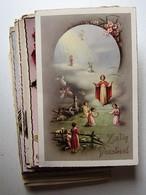 FÊTES - VOEUX - FANTAISIES - LOT DE 50 Anciennes Cartes Postales - Cartes Postales