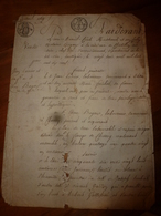 1819 Manuscrits Notariés Avec Cachets Concerne Jean Lanieu Laboureur à Charrey - Manuscrits
