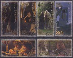 NUEVA ZELANDA 2001 Nº 1883/88 USADO - Nueva Zelanda