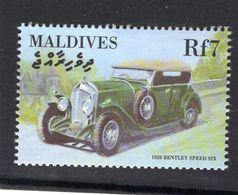Maldives  -   Bentley Speed Six  -  1928  -  1v Timbre  -   Neuf/Mint - Cars