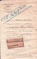 FACTURE Note D'Honoraires De Mr CH.FARE à LISIEUX 1930 - France