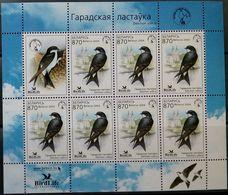 Belarus, 2004, Mi. 541, Sc. 520, Birds, Swallow, MNH - Swallows