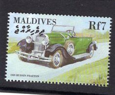 Maldives  -   Hudson Phaeton  -  1929  -  1v Timbre  -   Neuf/Mint - Coches