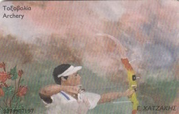 11832 - SCHEDA TELEFONICA - GRECIA - OLIMPIADI ATENE 2004 - USATA - Jeux Olympiques