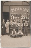 CPA PHOTO Boutique Atelier De  RESSEMELAGE Famille BEDET - Orleans