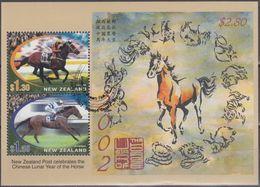 NUEVA ZELANDA 2002 Nº HB-157 USADO (REF. 02) - Nueva Zelanda