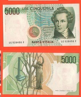 5000 5.000 Lire Galilei 10/09/1982 Ciampi Speziali - 5000 Lire