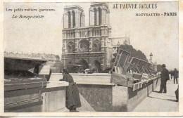 75 Les Petits Métiers Parisiens  Le Bouquiniste - Petits Métiers à Paris