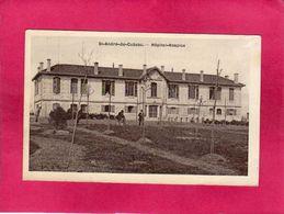 33 Gironde, St-André-de-Cubzac, Hôpital-Hospice, Animée, 1916, (A. Berson) - France