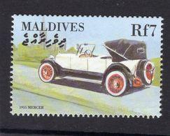 Maldives  -   Mercer Coupe-de-Ville  -  1915  -  1v Timbre  -   Neuf/Mint - Coches