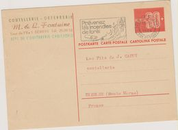 SUISSE - Geneve - Entier Postal - Entiers Postaux