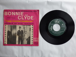 B.O.F BONNIE  AND CLYDE Label MERCURY 127.309 MUSIQUE EARL SCRUGGS - Soundtracks, Film Music