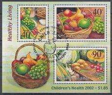 NUEVA ZELANDA 2002 Nº HB-160 USADO - Usados