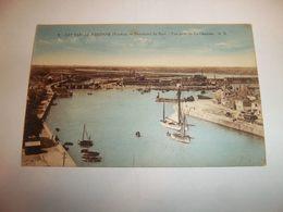 6bit -  CPA N°2 - LES SABLES D'OLONNE - Panorama Du Port - Vue Prise De La Chaume - [85] Vendée  - - Sables D'Olonne