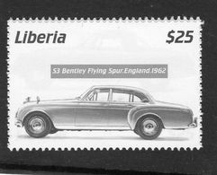 Liberia  -   Bentley Flying Spur (UK)  -  1962  -  1v Timbre  -   Neuf/Mint - Cars