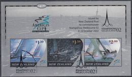 NUEVA ZELANDA 2002 Nº HB-162 USADO - Usados
