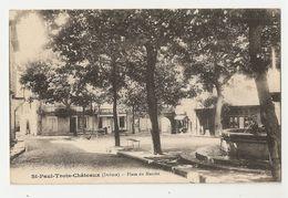 26 Saint Paul Trois Chateaux, Place Du Marché (1885) - France