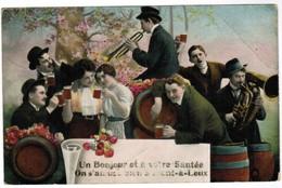 Orchestre, Orkest, Un Bonjour Et A Votre Santé, On S'amise Bien A Mont A Leux (pk44129) - Tournai