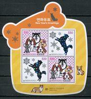 Korea South 2017 / Mammals Dogs New Year MNH Mamiferos Perros Hunde Chiens / Cu7318  31+ - Dogs