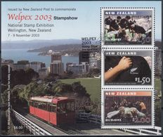 NUEVA ZELANDA 2003 Nº HB-182 USADO - Usados