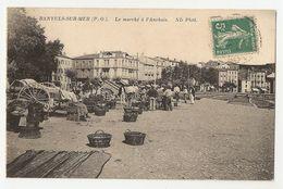 66 Banyuls Sur Mer, Marché à L'anchois (1890) - Banyuls Sur Mer