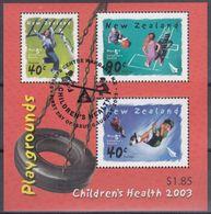 NUEVA ZELANDA 2003 Nº HB-174 USADO - Usados