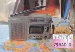 D- [13673] Carte-CMAX 3415, 2005, MB - 75 Ans De La Radio - Maximum Cards