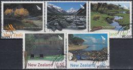 NUEVA ZELANDA 2003 Nº 2027/31 USADO - Nueva Zelanda