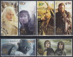 NUEVA ZELANDA 2003 Nº 2044/49 USADO - Usados