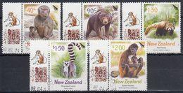 NUEVA ZELANDA 2004 Nº 2056/60 USADO - Nueva Zelanda
