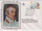Duke Of Wellington, British General , Freemason, Family Lodge Freemasonry Masonic Cover 1987 Great Britain - Franc-Maçonnerie