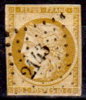 Francia-A0001 - 1849: Y&T N. 1 (o) Used - Senza Difetti Occulti. - 1849-1850 Cérès