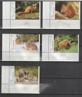 Jugend: Heimische Tiere.  / MiNr.: 2539-2543 / 1 Satz, 5 Marken - BRD