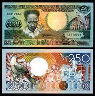 15 Pieces Suriname 250 Guilders 1998 UNC - Surinam