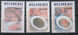Moçambique Mozambique 2008 Mi. 3079-3081 - Gastronomy Gastronomie Küche Gastronomia MNH RARE - Mozambique