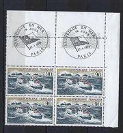 """FR Coins Datés FDC YT 1791 """" Sauvetage En Mer """" Neuf** Paris Le 27.4.1974 - Coins Datés"""