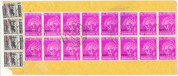 Bangladesh Registered Cover Sent To Denmark 10-9-1980 Overprinted SERVICE Topic Stamps - Bangladesh