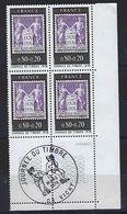 """FR Coins Datés FDC YT 1870 """" Journée Du Timbre """" Neuf** VICHY 13 MARS 1976 - Coins Datés"""