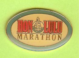 Pin's Marathon Honolulu - 7D19 - Unclassified
