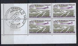"""FR Coins Datés  YT 1787 """" Aeroport CDG """" Neuf** Paris Le 16 Mars 1974 - Coins Datés"""