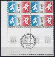"""FR Coins Datés FDC YT 1940 """" Coupe De France """" Neuf** Paris 11.6.1977 - Coins Datés"""