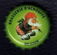 Belgique Capsule Bière Beer Crown Cap Brasserie D'Achouffe Houblon Triple I.P.A. Chouffe - Birra