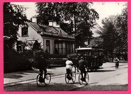 Hilversum - De's Gravelandseweg Omstreels 1920 - Links Oudste Type Hilv. Villa 1855 - Tramway - Bicyclette - DE VAART - Hilversum