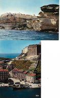 20 BONIFACIO  RAMPE D ACCES  ANCIENNE CITADELLE ET FALAISES  LOT 2 CARTES NEUVES - France