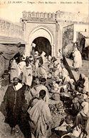 TANGER ( Maroc) - Marchandes De Pains - Cpa En Bon état écrite En 1906 - 2 Scans - Tanger