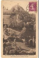 """BORT LES ORGUES (environs) :La Roche Mandrin(Refuge Du Célèbre""""Bandit"""" - France"""