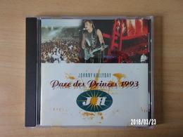 CD - Johnny Hallyday - Parc De Princes 1993 - Rock