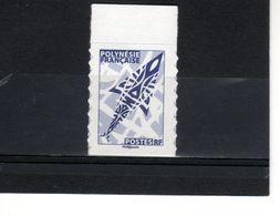 POLYNESIE  TVP BLEU  **  Type II // Issu Du Carnet Autocollant Régime Intérieur N° 1073-4  De 2016 - Polynésie Française